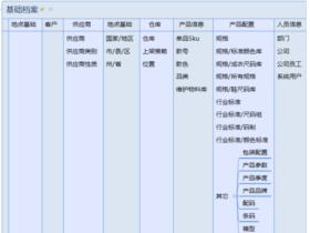ODOO13时尚行业之鞋服精益生产系统–基础档案模块解析